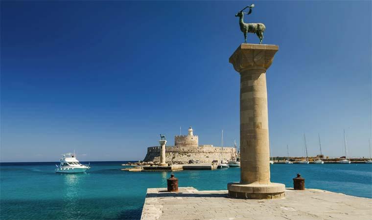 Достопримечательности острова Родос - Самые интересные места