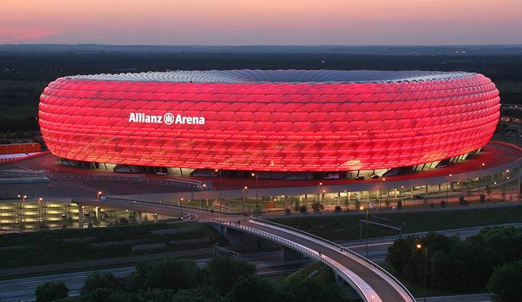 Достопримечательности Мюнхена: Альянц арена