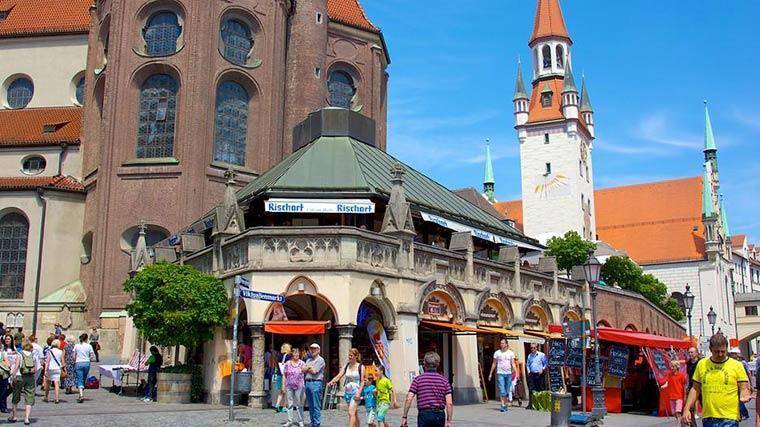 Достопримечательности Мюнхена: Виктуалиенмаркт