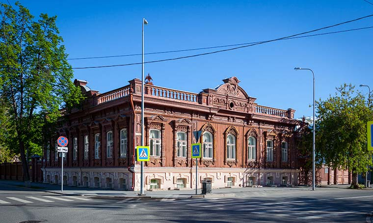 Дом Буркова - достопримечательности Тюмени