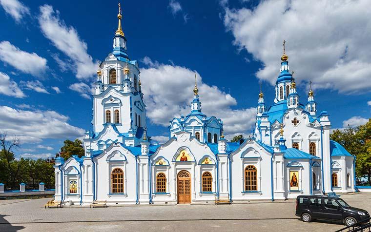 Знаменский собор - достопримечательности Тюмени