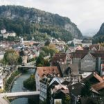Красивый город в Астрии - Фельдкирх