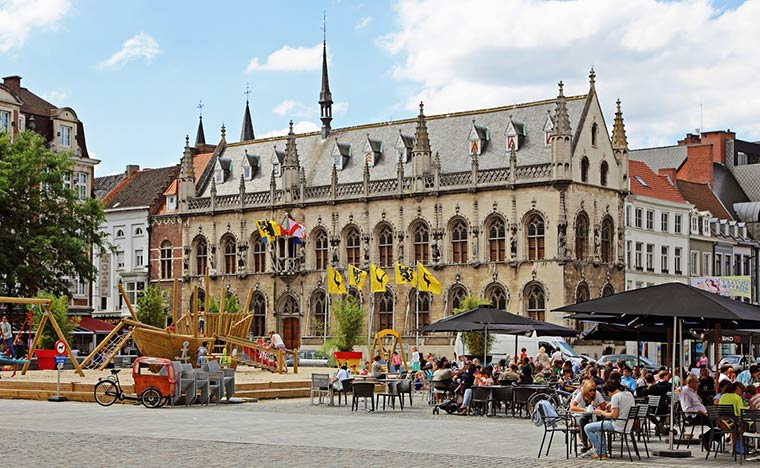 Самые красивые города Бельгии