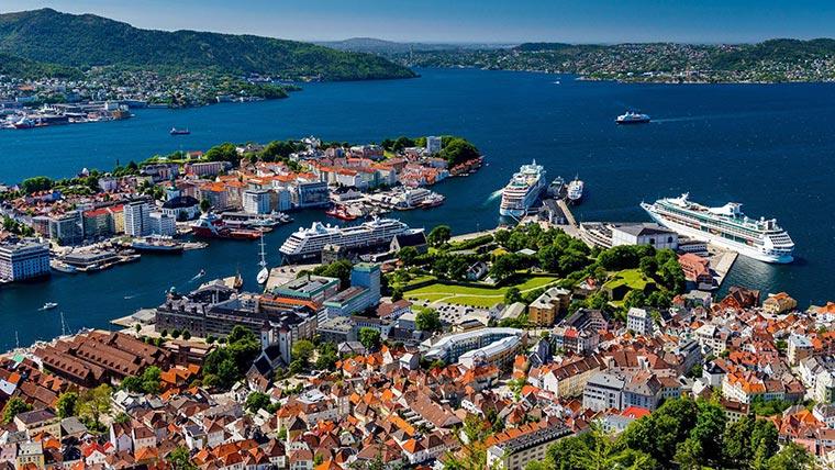 Красивые города Норвегии