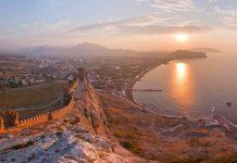 Красивый город в Крыму