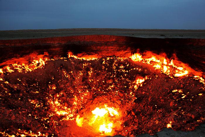 Дарваза | Дверь в Ад в Туркменистане