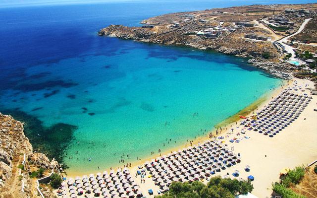 Остров Миконос: лучшие пляжи