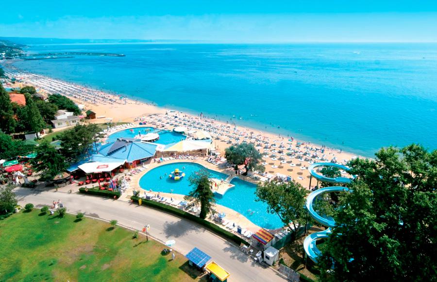 Отели курорта Солнечный берег в Болгарии