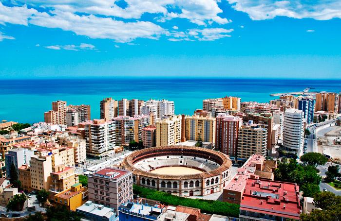 Город Малага. Испания