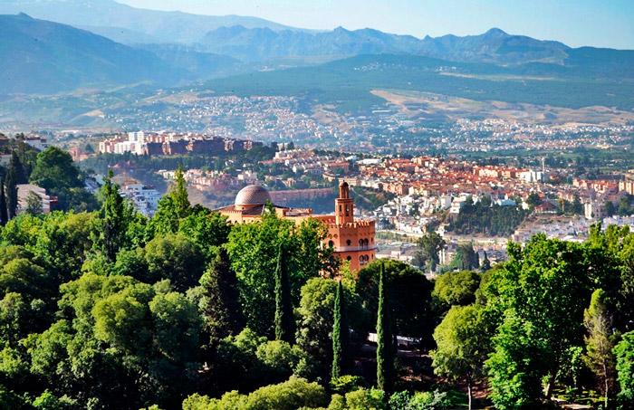 Город Гранада Испания