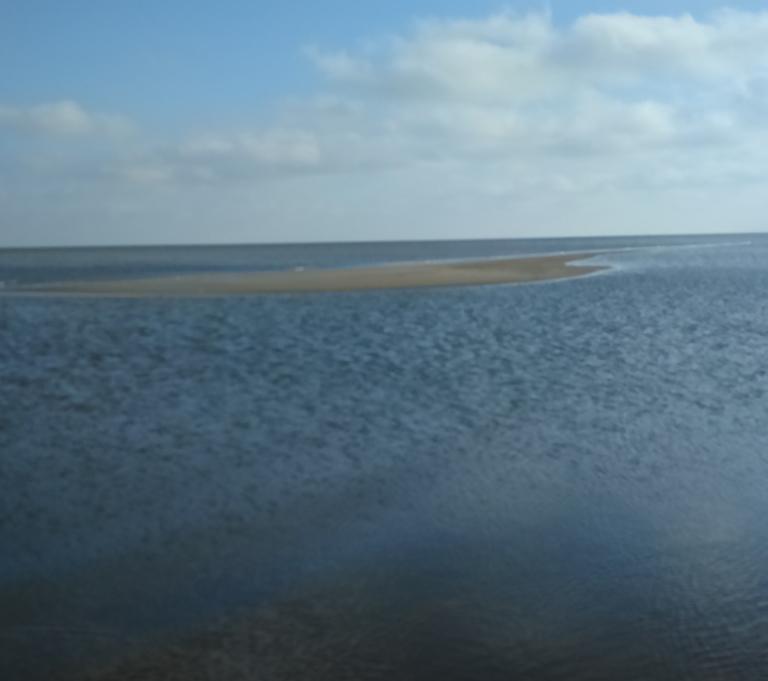 Стрелковое. Азовское море