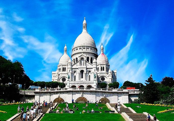 Базилика Сакре-Кер Париж