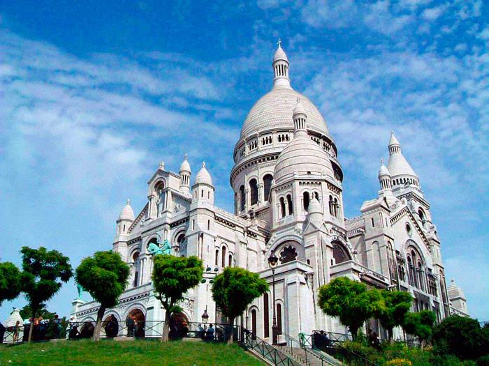 Собор Сакре-Кер в Париже