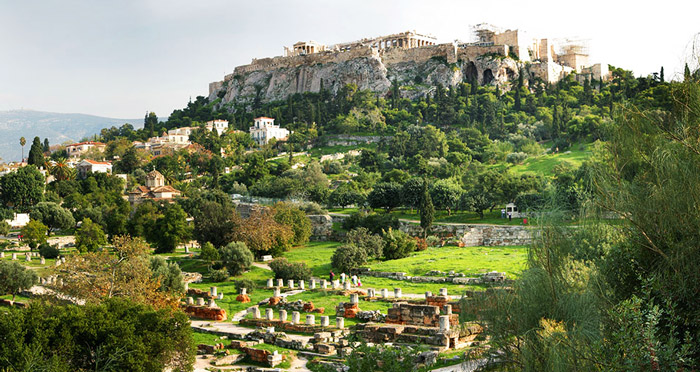 Древняя Агора Афины