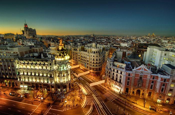 Погулка по Мадриду
