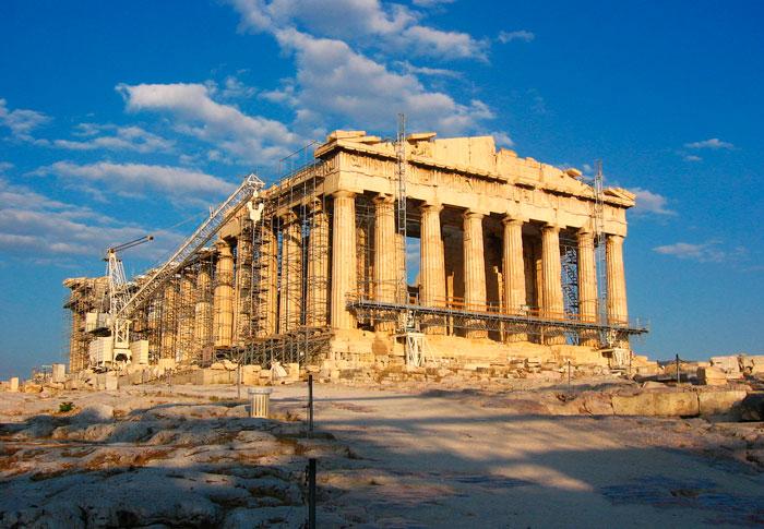 парфенон храм фото