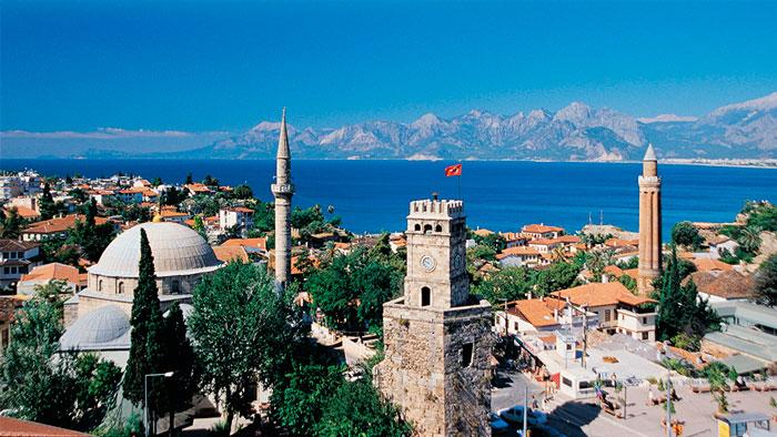 Лучшие морские курорты Турции