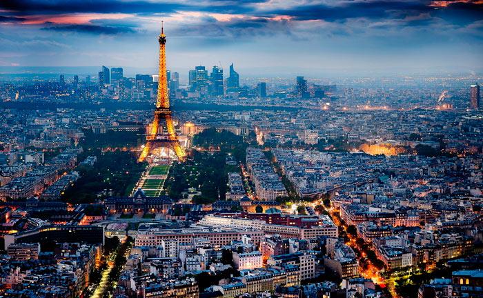 Лучшие места Парижа