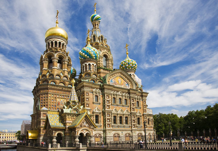 Санкт-Петербург: что посмотреть. Спас на Крови