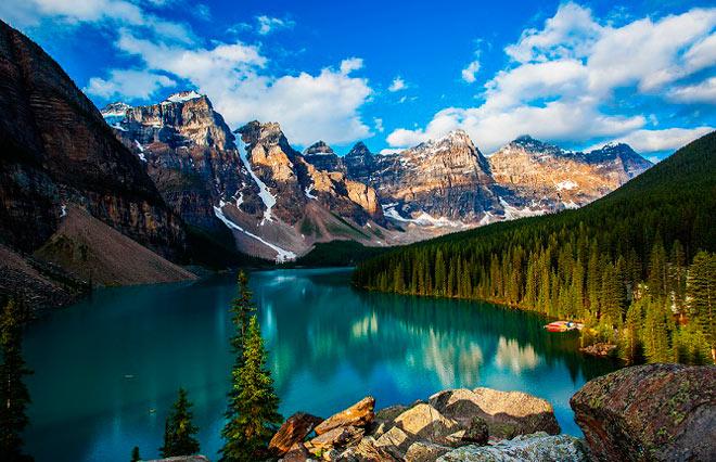 Самые красивые места в мире: Долина Десяти Пиков