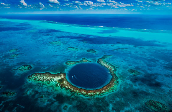 Самые красивые места на Земле: большая голубая дыра
