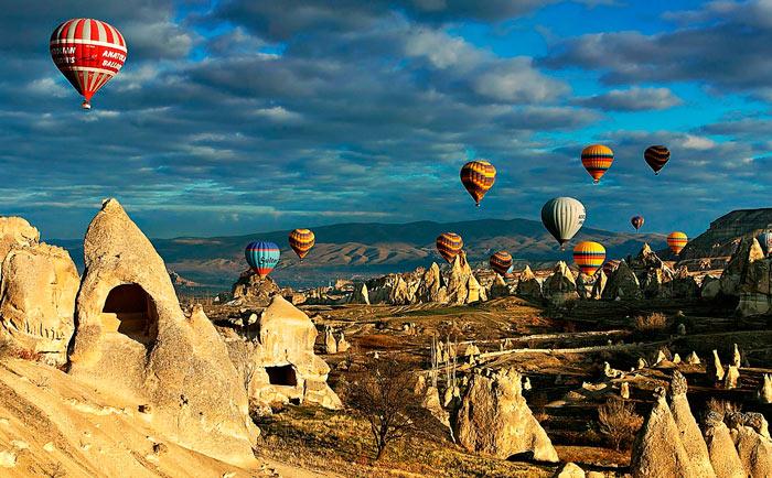 Самые красивые места в мире:: каппадокия