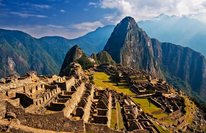 очень красивое место Мачу-Пикчу