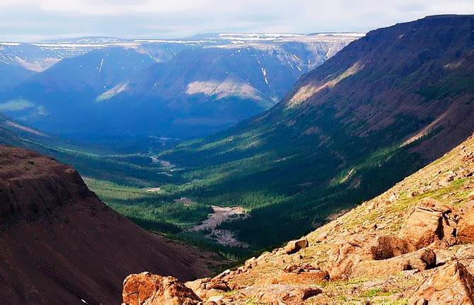 Самые красивые места России: Плато Путорана