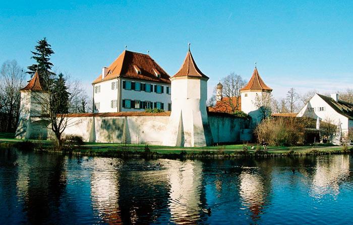 Что посетить в Мюнхене: Замок Блютенбург