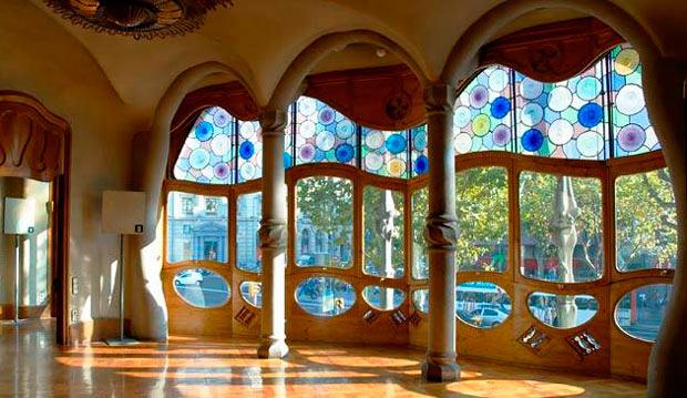 дом Бальо внутри