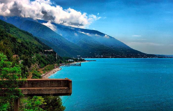 Экскурсия по Абхазии. Gagra1
