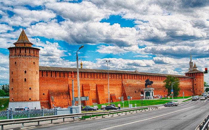 Самые красивые места Подмосковья: Кремль Коломны