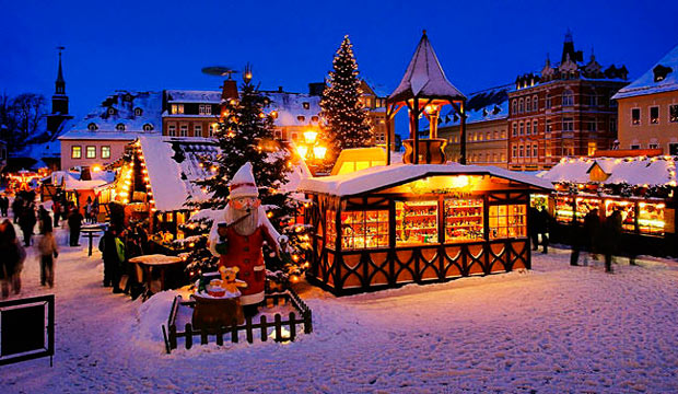 Лучшие рождественские ярмарки в Европе