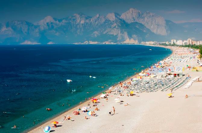 лучший пляж Анталии
