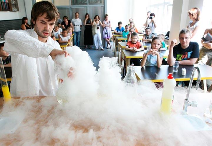 Что посетить в Москве с детьми :«Экспериментаниум»