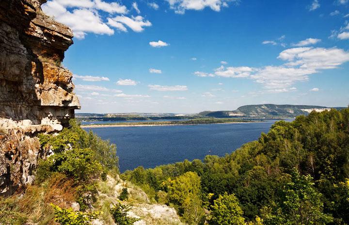 Красивые места Самарской области: гора Верблюд