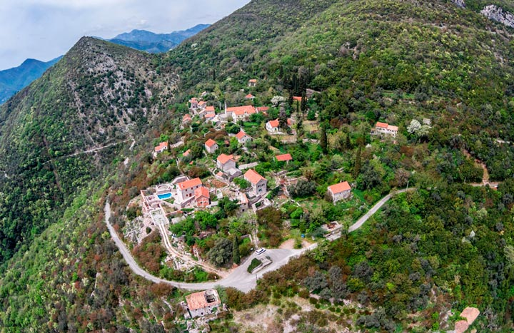 Фото достопримечательности Черногории: Горня-Ластва