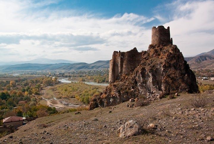 Достопримечательности Грузии: Крепость Ацкури