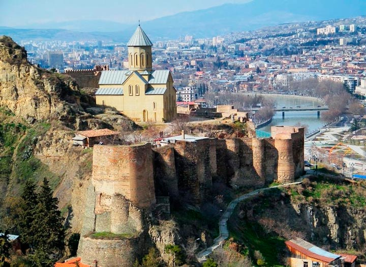 Достопримечательности Грузии: Крепость Нарикала