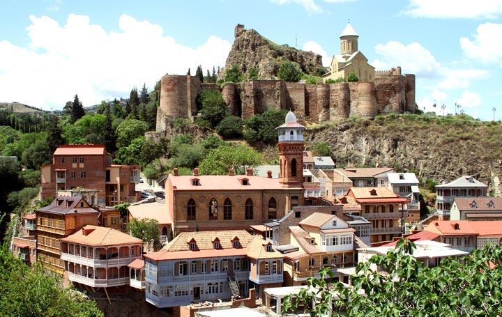 Достопримечательности Грузии: Старый Тбилиси