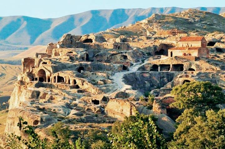 Достопримечательность в Грузии: Уплисцихе