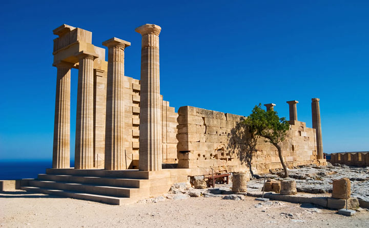 Акрополь в Линдосе