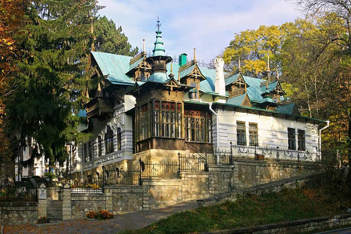 Достопримечательности Кисловодска: Дача Шаляпина