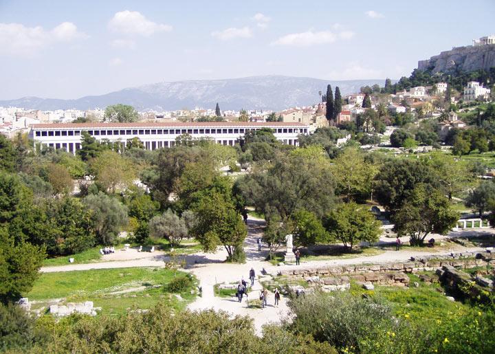 Достопримечательности в Греции: Агора