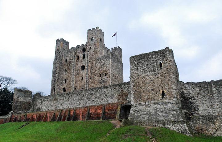 Достопримечательности Англии: Замок Рочестер