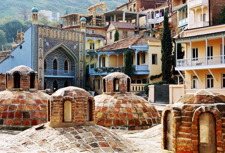 Красивые памятники Тбилиси: Абанотубани