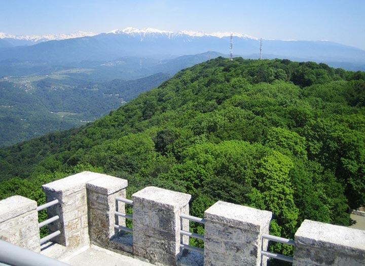 Гора Ахун. Сочи