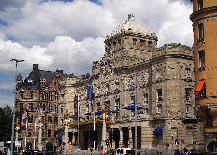 Достопримечательности Стокгольма: Королевский драматический театр