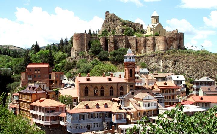 Лучшие достопримечательности Тбилиси: Крепость Нарикала