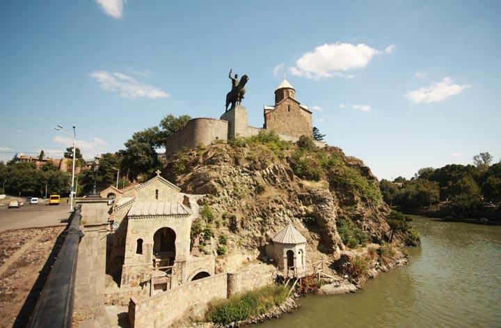Красивые достопримечательности Тбилиси: Метехи